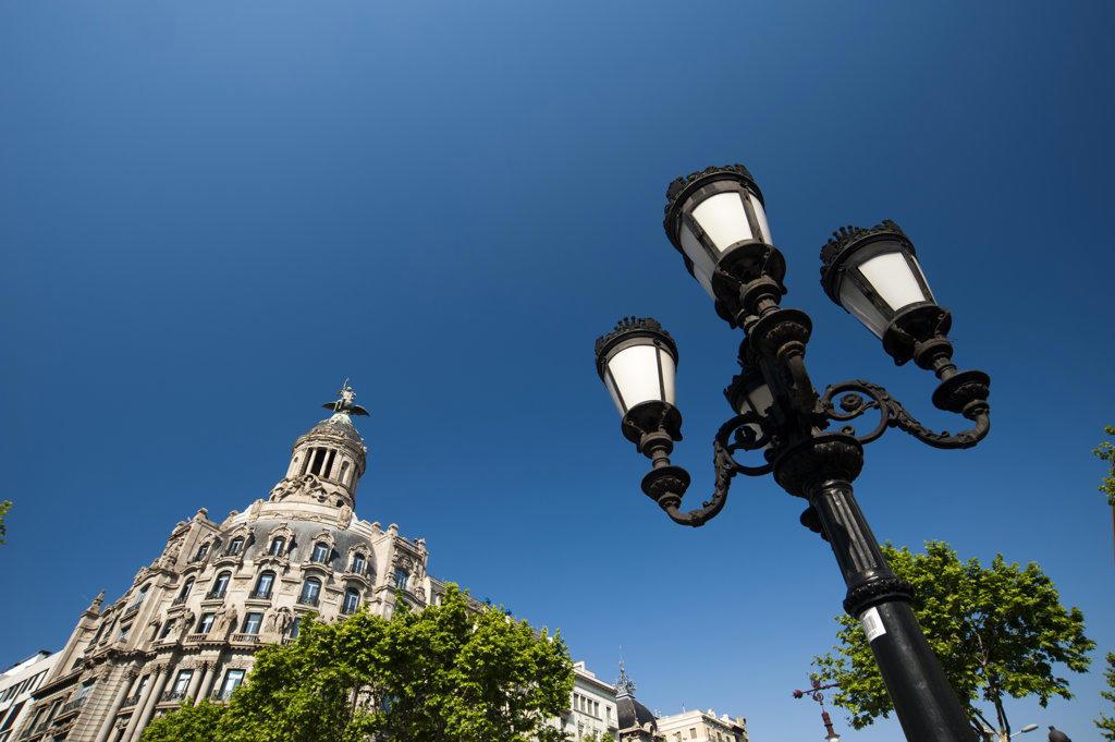 Spain, Barcelona, Passeig de Gracia : Stock Photo