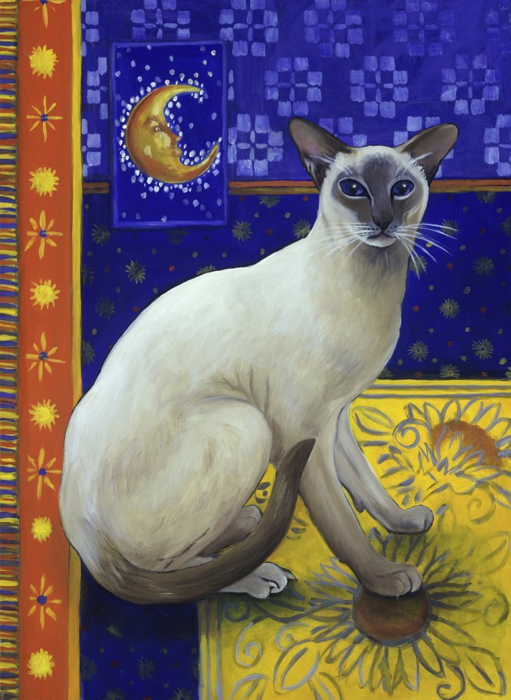 Siamese Cat--Series I