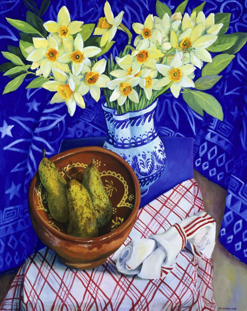 Stock Photo: 1347-136 First Daffodils
