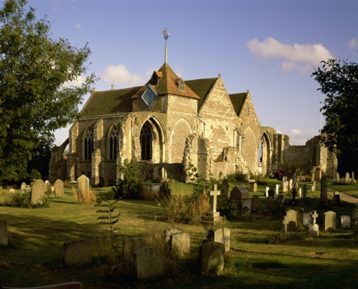 Stock Photo: 1354-137 Parish Church of St. Thomas the Martyr