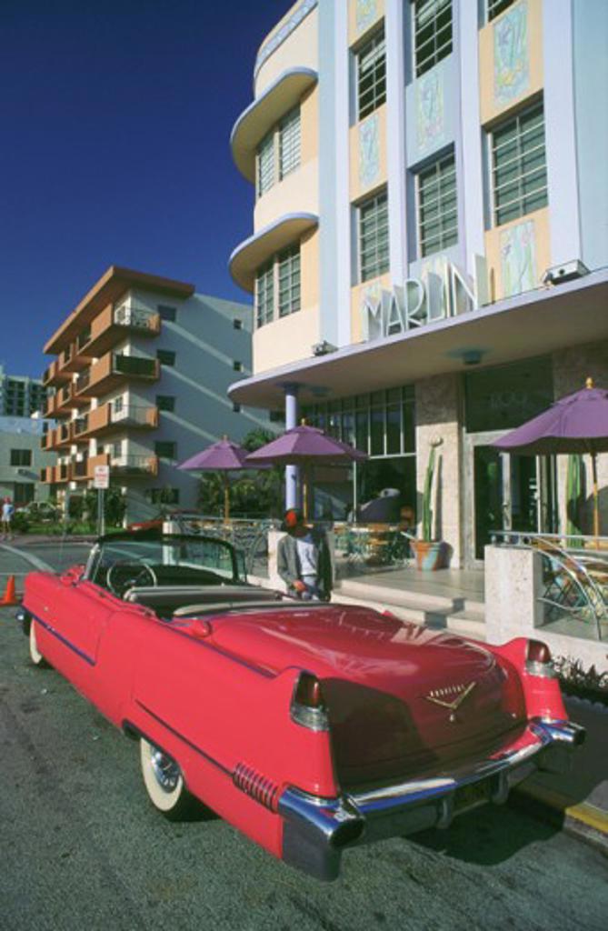 Marlin Hotel Art Deco District Miami Beach Florida, USA : Stock Photo