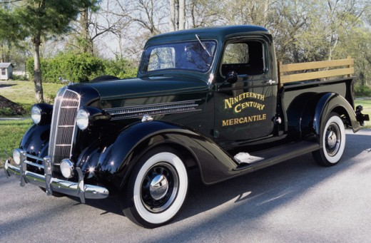 Stock Photo: 1370-4848 1936 Dodge