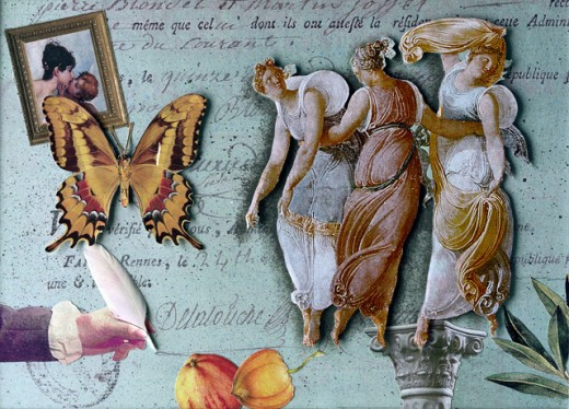 Stock Photo: 1376-502 The Three Graces II