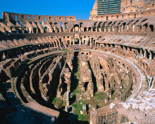Stock Photo: 1397R-33003 Colosseum