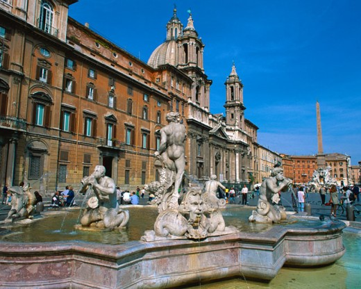 Stock Photo: 1397R-33027 Fountain of the Moor
