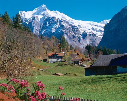 Stock Photo: 1397R-43030 Switzerland