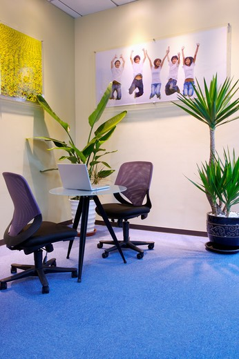Stock Photo: 1397R-70289 Office, Interior Design