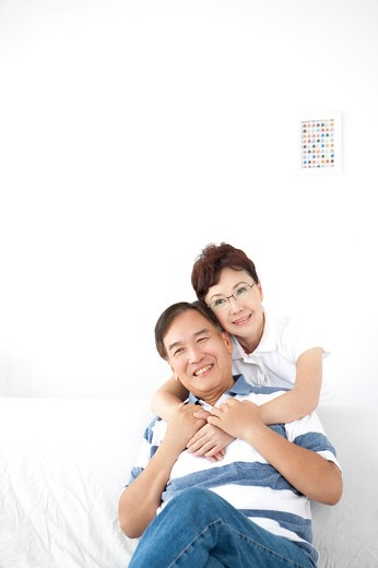 Stock Photo: 1397R-71169 Happy Senior couple