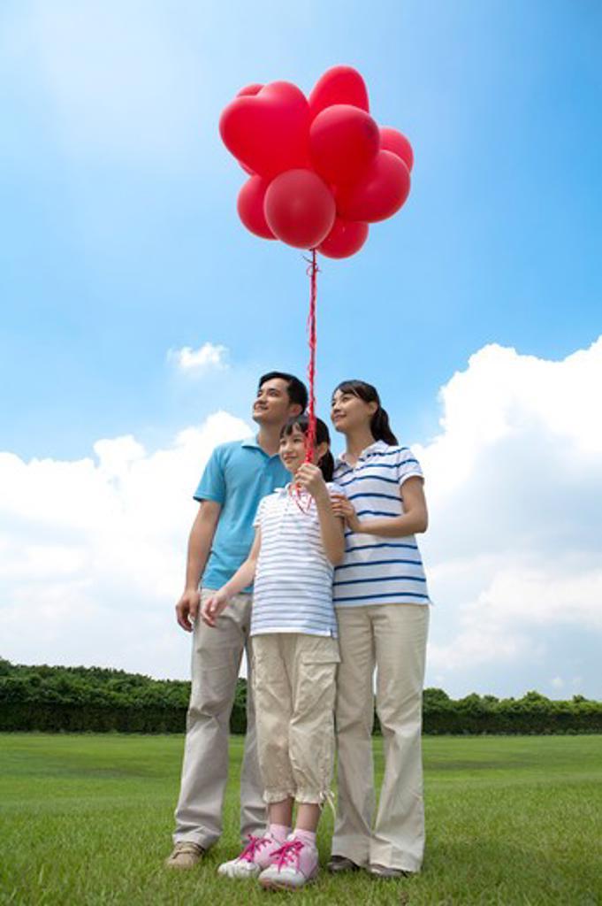 Family on holiday : Stock Photo