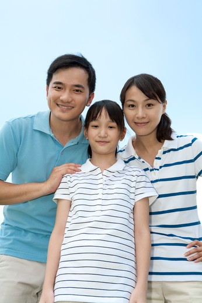 Stock Photo: 1397R-71767 Family portrait