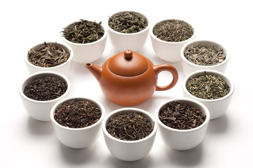 Stock Photo: 1397R-72537 Tea, Chinese Tea,