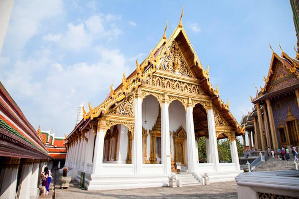 Stock Photo: 1397R-72689 Thailand, Bangkok, Grand Palais, Wat Phra Kaeo