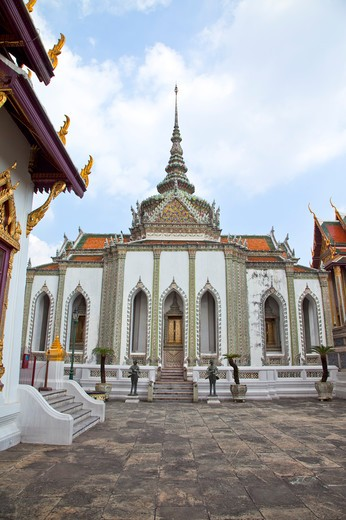 Stock Photo: 1397R-72695 Thailand, Bangkok, Grand Palais, Wat Phra Kaeo, Dusit Throne Hall