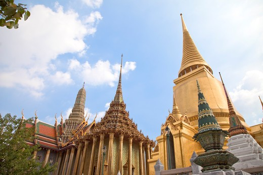 Stock Photo: 1397R-72714 Thailand, Bangkok, Grand Palais, Wat Phra Kaeo