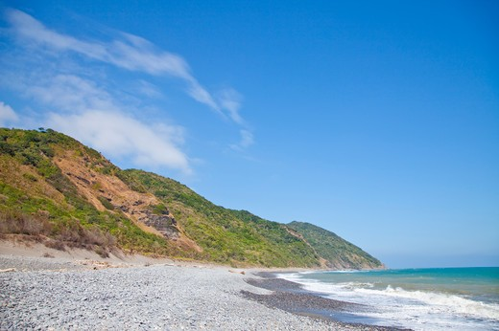 Seaside, Pingtung, Taiwan, Asia : Stock Photo