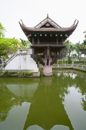 Stock Photo: 1397R-72950 One Pillar Pagoda, Vietnam