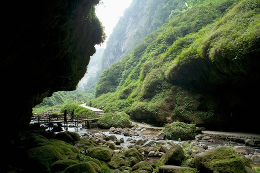 Stock Photo: 1397R-73011 Tongling Grand Canyon, Guangxi Province, China