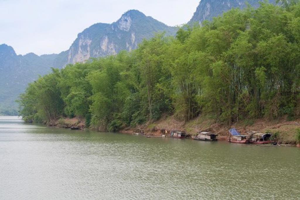 Stock Photo: 1397R-73089 Longzhou Zuojiang, Guangxi Province, China