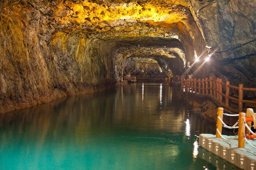 Cave in Matsu, : Stock Photo