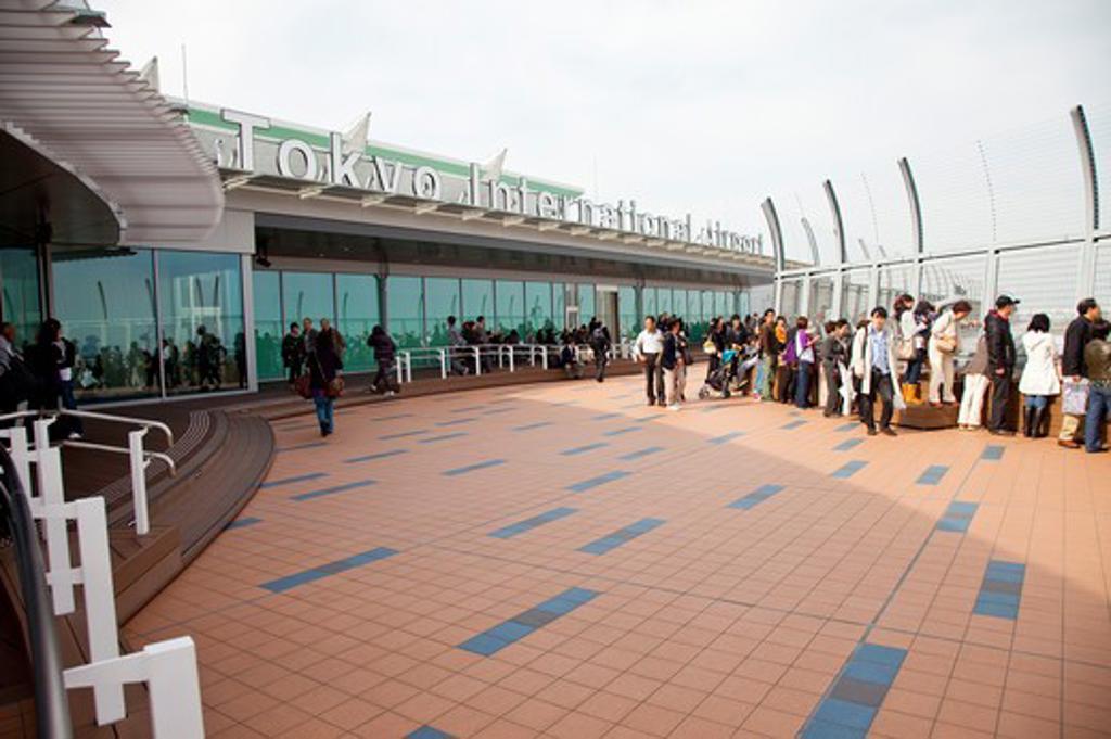 Haneda Airport, Tokyo Prefecture, Japan, Tokyo International Airport, Asia, : Stock Photo