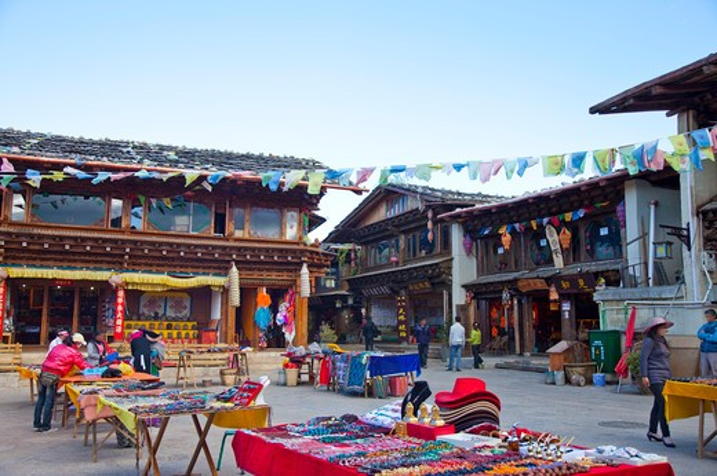 Shangri-la County, Yunnan Province, China, Asia, : Stock Photo
