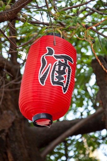 Lijiang, Yunnan Province, China, Asia, Lantern, : Stock Photo