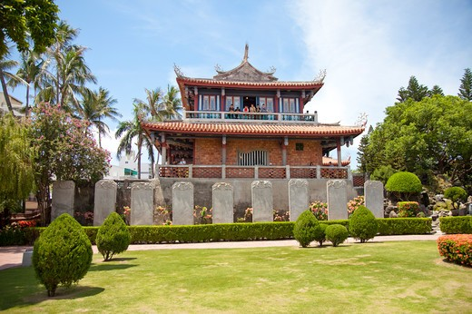 Chihkan Tower, Tainan, Taiwan, Asia, : Stock Photo