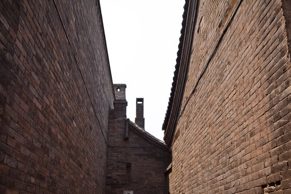 Pingyao Ancient City, Shanxi Province, China, Asia, : Stock Photo