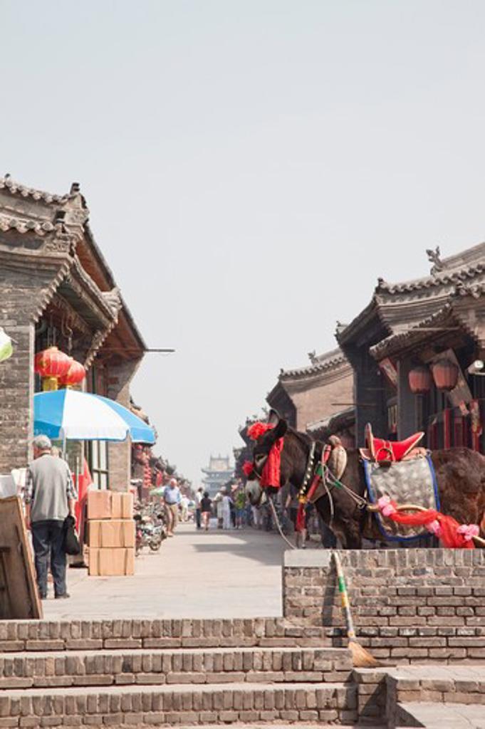 Stock Photo: 1397R-74458 Pingyao Ancient City, Shanxi Province, China, Asia,