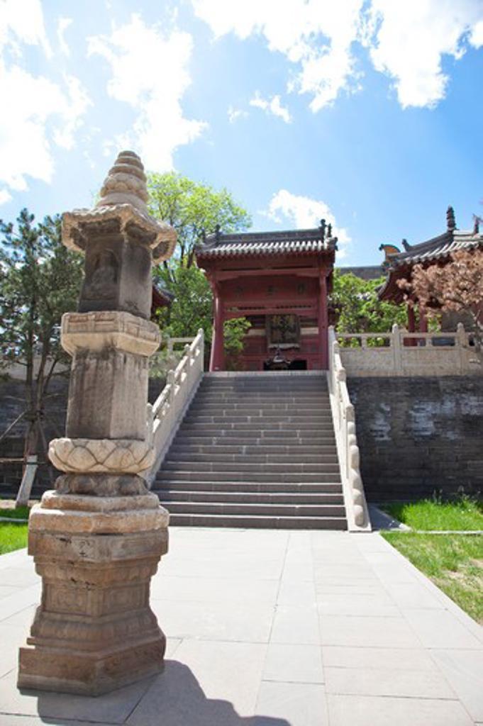 Temple, Datong, Shanxi Province, China, Asia, : Stock Photo