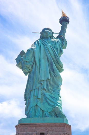Stock Photo: 1397R-74582 Statue of Liberty, New York City, New York State, USA, North America