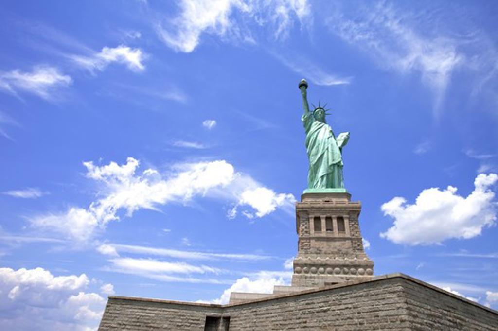 Statue of Liberty, New York City, New York State, USA, North America : Stock Photo