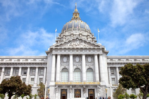 City Hall, San Francisco, California, USA, North America : Stock Photo
