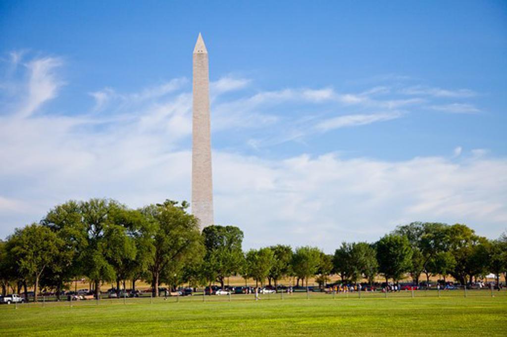 Stock Photo: 1397R-74840 Washington DC Memorial in Washington DC, USA, North America