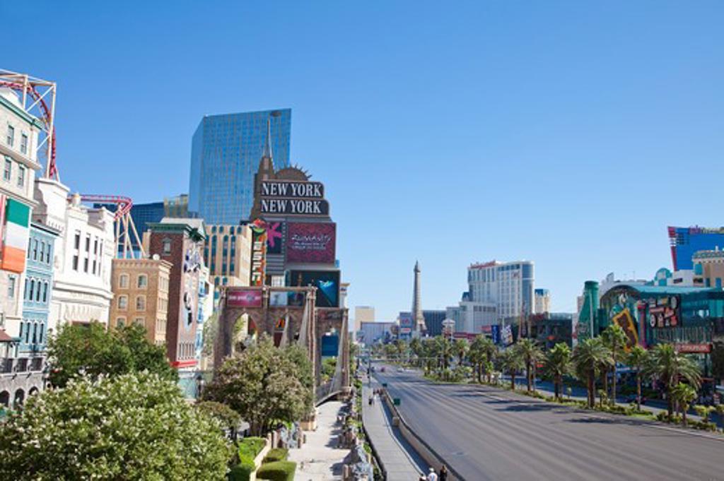 City Street, Las Vegas : Stock Photo