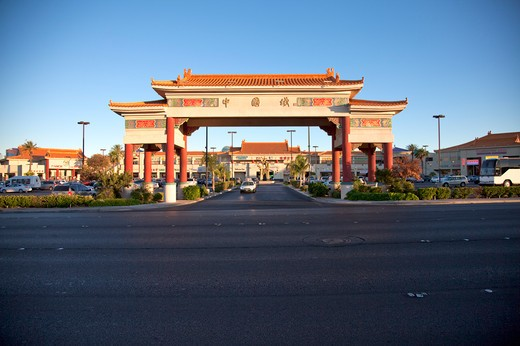 Stock Photo: 1397R-74908 China Town, Las Vegas,