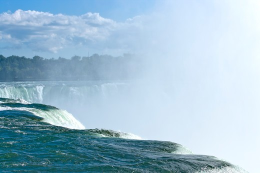 Niagara Falls, New York State, USA, North America : Stock Photo