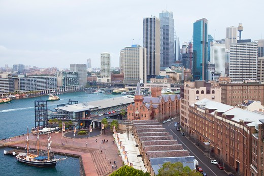 Stock Photo: 1397R-75056 Urban Scene, Bay, Sydney, Australia - Australasia