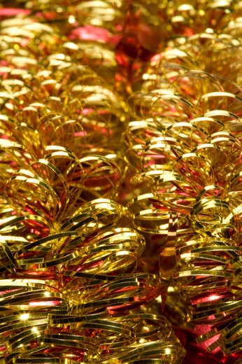 Stock Photo: 1397R-76145 Shiny Tinsel