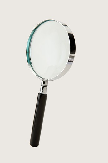 Stock Photo: 1397R-76176 Magnifying Glass