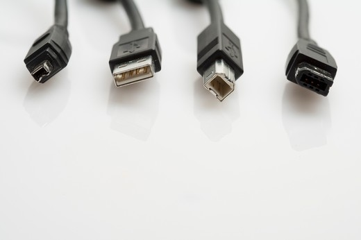 Computer Cable : Stock Photo