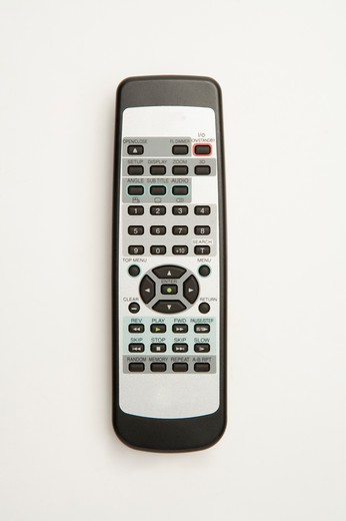 Stock Photo: 1397R-76324 Remote Control