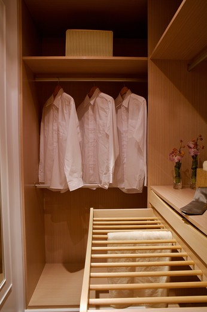 Stock Photo: 1397R-78948 Closet, Walk-In Closet