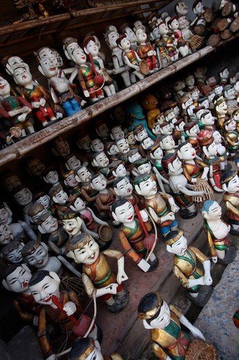 Stock Photo: 1397R-79613 shop of water puppets,Vietnam,Asia