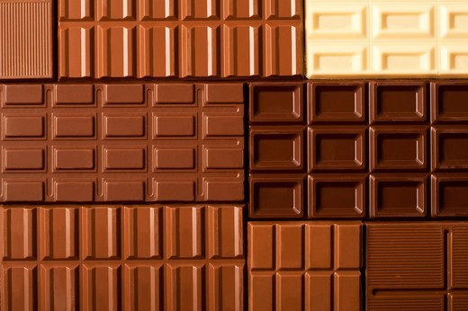 Stock Photo: 1397R-82623 Close-up of chocolates
