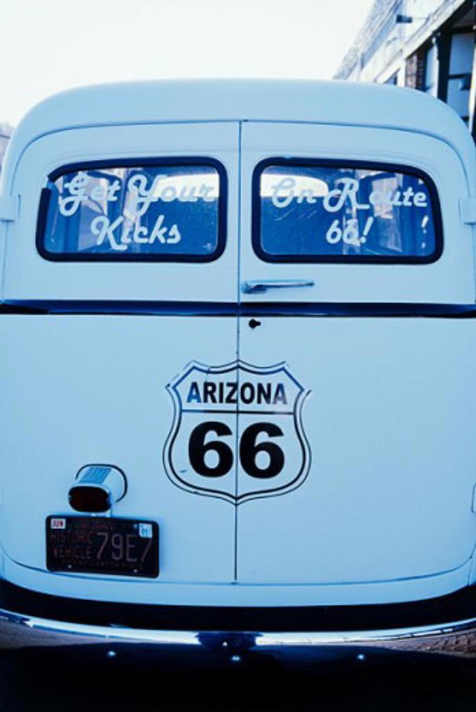 Stock Photo: 1400-405 Williams Arizona USA