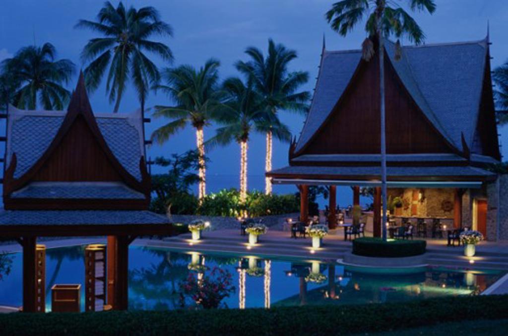 Chiva-Som International Health Resort Hua Hin Thailand : Stock Photo