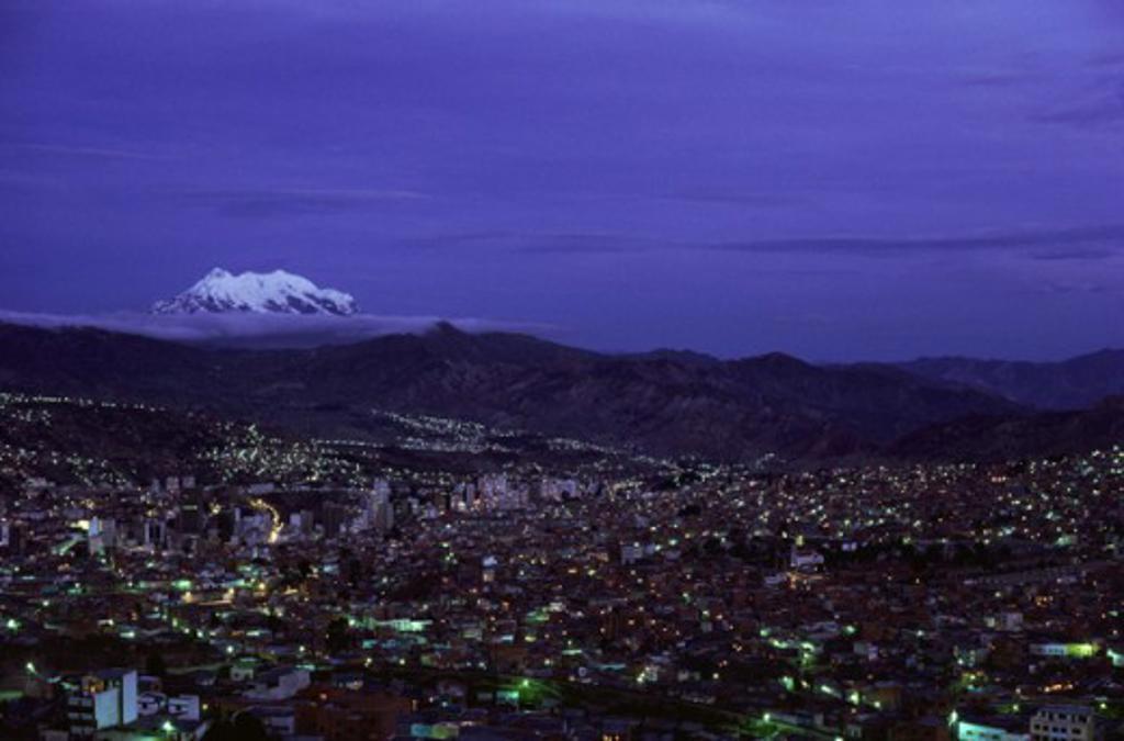 Stock Photo: 1403-187 La Paz Bolivia