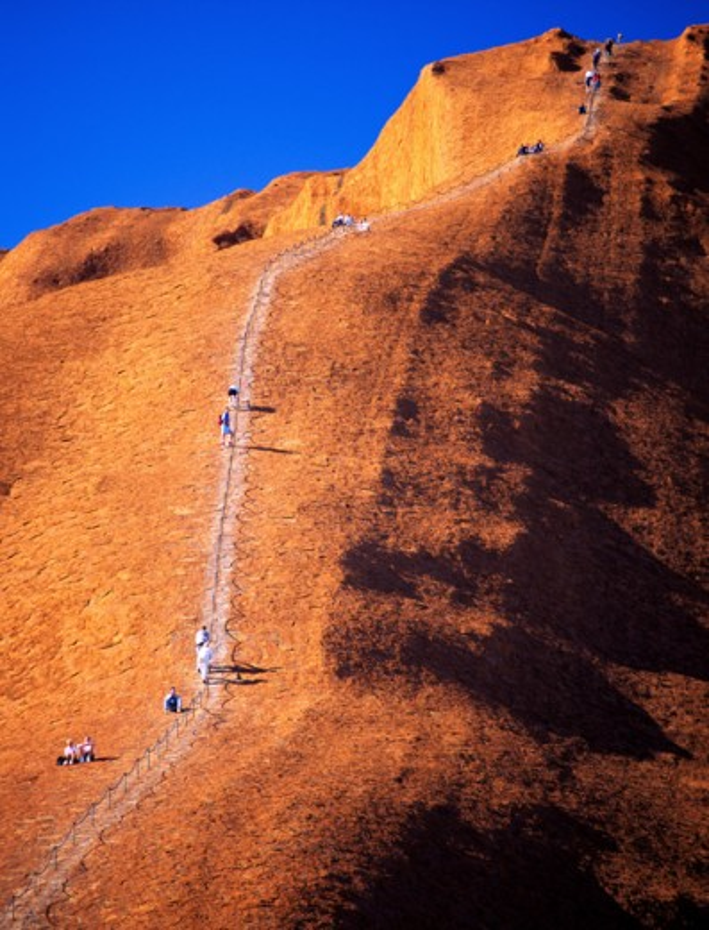 Stock Photo: 1408-106 Ayers Rock Uluru-Kata Tjuta National Park Australia
