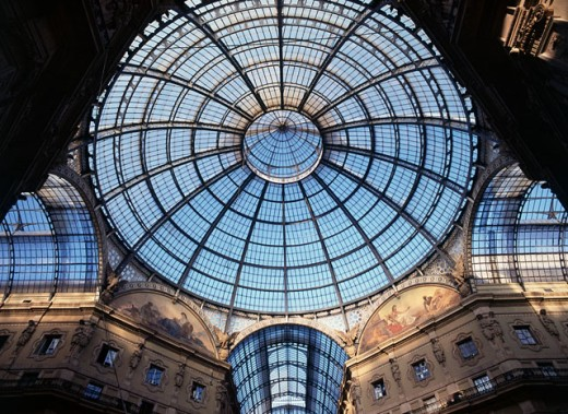 Stock Photo: 1408-562B Galleria Vittorio Emanuele II